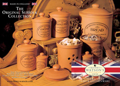 Terracotta Kitchenware Original Suffolk Collection