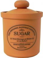 Sugar Storage Jar in Terracotta