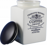 Charlotte Watson Cream Coffee Storage Jar (Large)