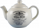 Four Cup Teapot in Charlotte Watson Cream