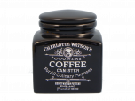 Charlotte Watson Black Coffee Storage Jar