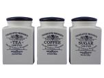 Set of Large Storage Jars in Charlotte Watson Cream