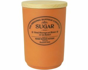 Original Suffolk Collection - Large Sugar Jar - Terracotta - Made in England - 11cm x 16cm