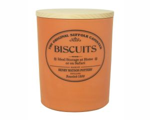 Large Biscuit Jar with Airtight Beech Lid