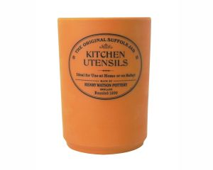 The Original Suffolk Collection - Utensil Holder - Terracotta - Made in England - 11cm x 15cm