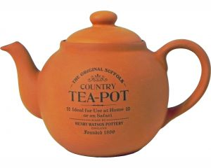 Original Suffolk Terracotta Four Cup Teapot