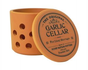 Garlic Cellar (Large) in Terracotta