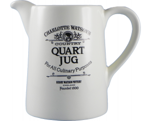 Charlotte Watson Cream Conical Quart Jug