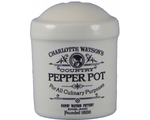 Charlotte Watson Cream Pepper Cruet