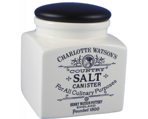 Charlotte Watson Cream Salt Storage Jar