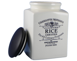 Charlotte Watson Cream Rice Storage Jar (Large)