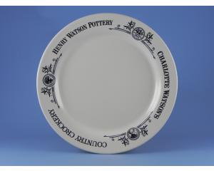 Charlotte Watson Cream Plate (23 cm)