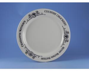 Charlotte Watson Cream Plate (27 cm)
