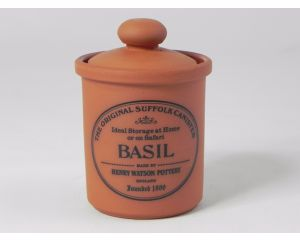 Herb/Spice Jar in Terracotta - Basil