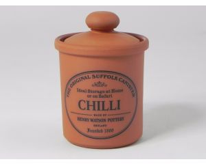 Herb/Spice Jar in Terracotta - Chilli