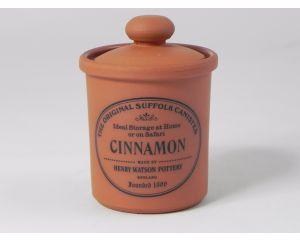 Herb/Spice Jar in Terracotta - cinnamon