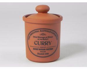 Herb/Spice Jar in Terracotta - Curry