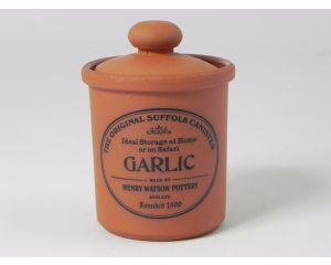 Herb/Spice Jar in Terracotta - Garlic