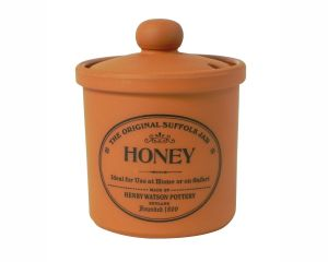 Honey Jar in Terracotta
