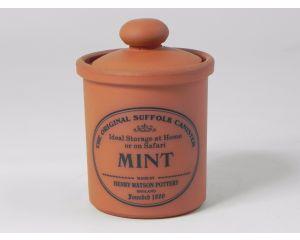 Herb/Spice Jar in Terracotta - Mint