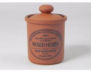 Herb/Spice Jar in Terracotta - Mixed Herbs