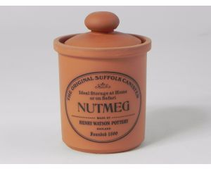 Herb/Spice Jar in Terracotta - Nutmeg