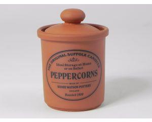 Herb/Spice Jar in Terracotta - Peppercorns