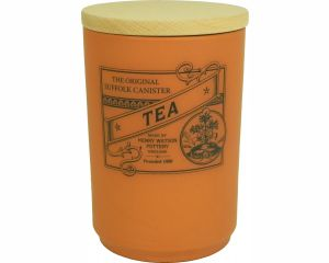 Suffolk Canister - Large Tea Jar - Terracotta - Made in England - 11cm x 16cm