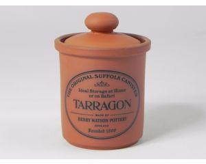 Herb/Spice Jar in Terracotta - Tarragon