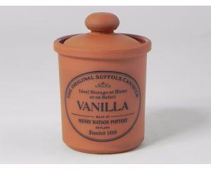 Herb/Spice Jar in Terracotta - Vanilla