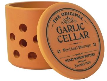 Henry Watson Garlic Keeper cellar terracotta