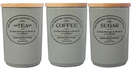 henry watson grey dove tea coffee sugar